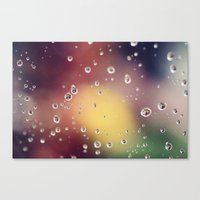 Raindrops II Canvas Print