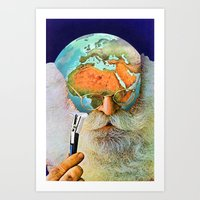 Art Prints featuring Deforestation by Eugenia Loli