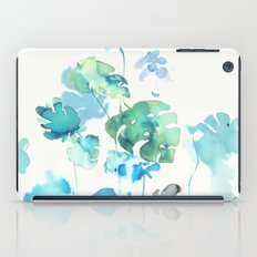 Tropical leaves, (collab Dylan Silva!) iPad Case