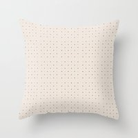 Dots  Throw Pillow
