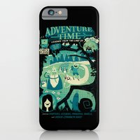 iPhone Cases featuring Legends from the Land of Ooo by jublin