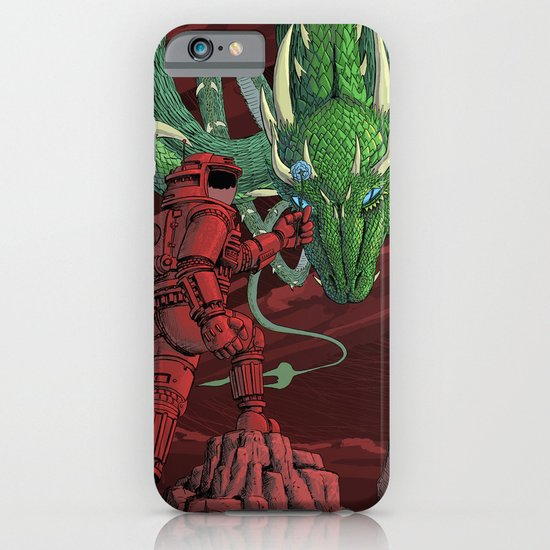 The Dragon on Mars iPhone & iPod Case