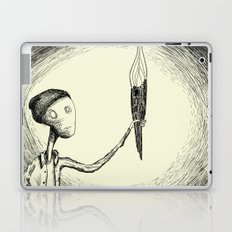 There's nothing here Laptop & iPad Skin