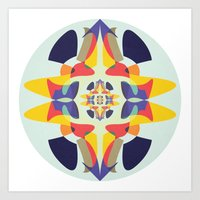 The More You Look, The M… Art Print