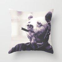 Bear Essentials  Throw Pillow