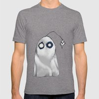 Bob's Ghost Mens Fitted Tee Tri-Grey SMALL
