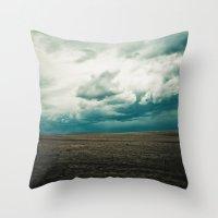 Montana Sky Throw Pillow