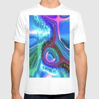 Desert Cave at Night B Mens Fitted Tee White SMALL