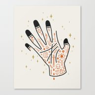Sleight Of Hand Canvas Print