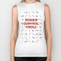 Zombie Survival Tools - … Biker Tank