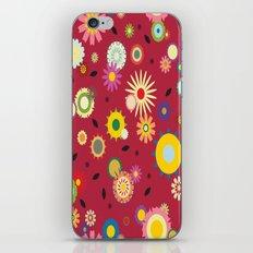 Vintage Floral pattern iPhone & iPod Skin