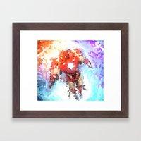 Arc Reacting Framed Art Print