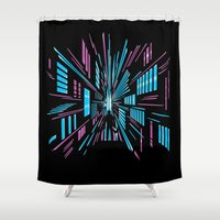 Tunnel to the Stars Shower Curtain