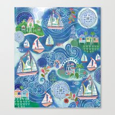 Dream Boats Canvas Print