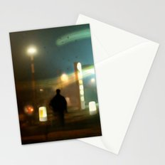 night shift Stationery Cards