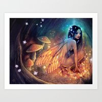 Fairydust Nest Art Print