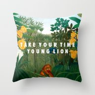 Weekend Of The Lion Throw Pillow