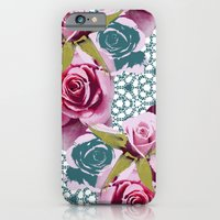 Modern Baroque Rose iPhone 6 Slim Case
