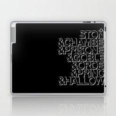 Harry Potter Ampersand Laptop & iPad Skin