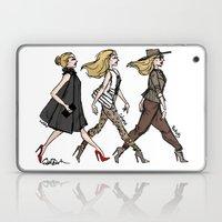 Fashion Girls Laptop & iPad Skin