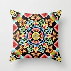 Celestial Mandala Throw Pillow