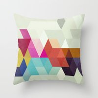 New Order Throw Pillow