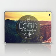 Psalm 104:33 Worship  Laptop & iPad Skin