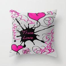 Twin Love Throw Pillow