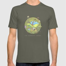 The Elephant's Garden - … Mens Fitted Tee Lieutenant SMALL