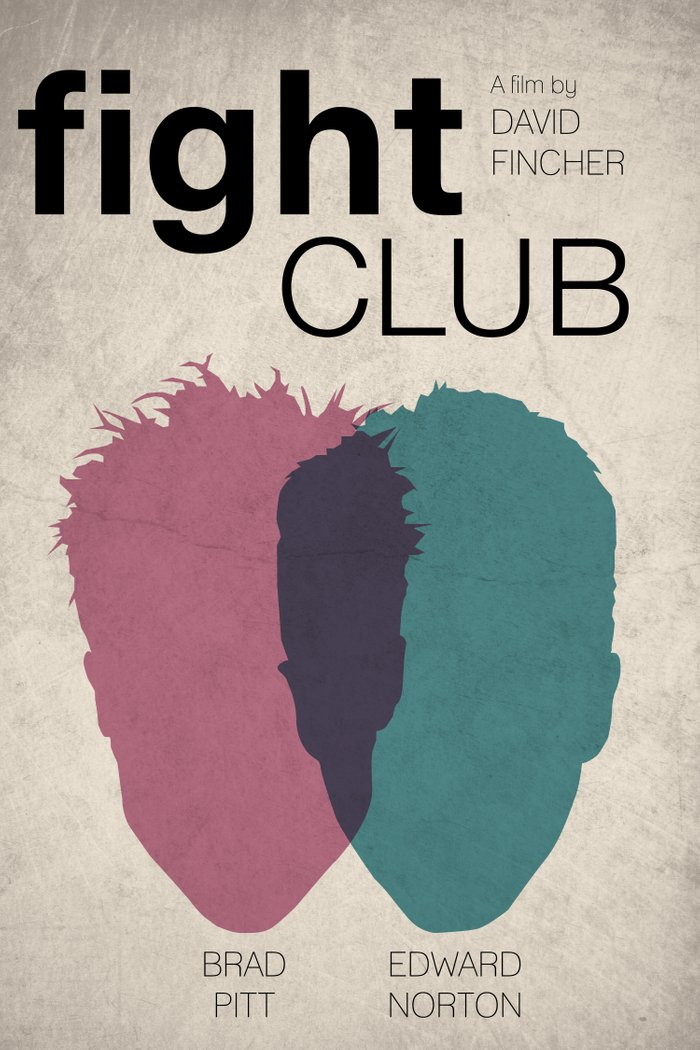 fight club art print by jacob wise society6. Black Bedroom Furniture Sets. Home Design Ideas