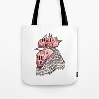 Proud Like A Rooster Tote Bag