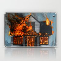 House On Fire Laptop & iPad Skin