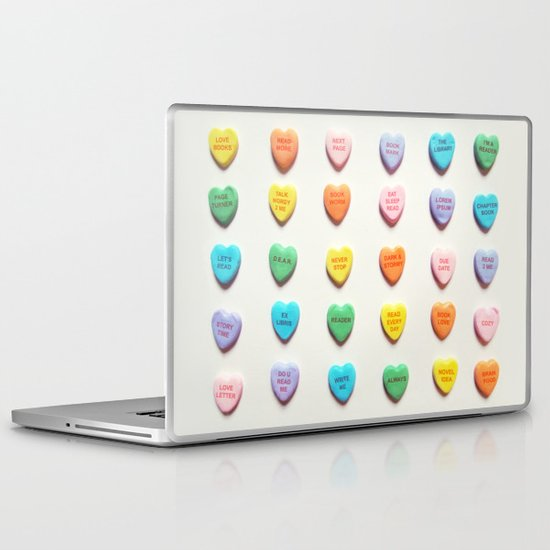 Love Books Laptop & iPad Skin