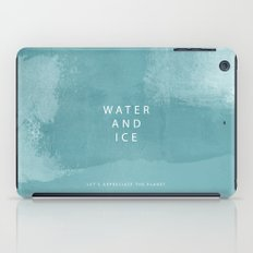 water and ice iPad Case