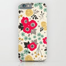 Blumen Slim Case iPhone 6s