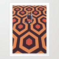 The Shining Room 237 Dan… Art Print
