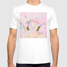 Jellyfishes SMALL White Mens Fitted Tee