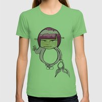 Bunny Womens Fitted Tee Grass SMALL