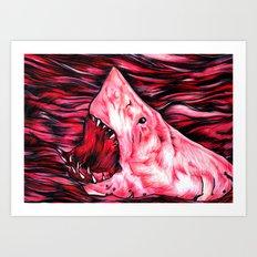 Give Blood Art Print
