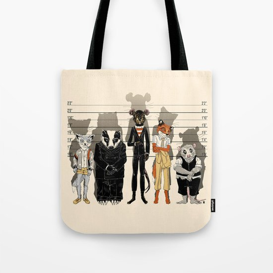 Unusual Suspects Tote Bag