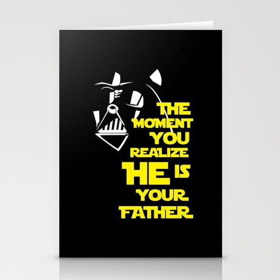 Vader Spoiler Stationery Card