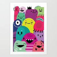 Pile Of Awesome Art Print