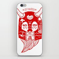 Sea Invader iPhone & iPod Skin