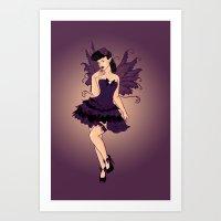 Poison Sass Art Print
