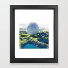 Furry Composition Framed Art Print