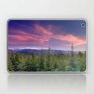 Spring Sunset At The Mou… Laptop & iPad Skin