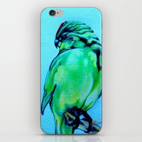 Kakariki - The NZ Red-Cr… iPhone & iPod Skin