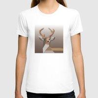 T-shirts featuring Deer Oh Dear by Bakmann Art