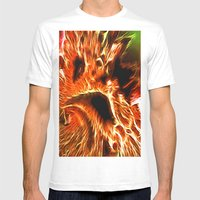 Faces Of Hell Mens Fitted Tee White SMALL