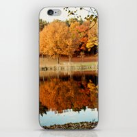Fall Reflections iPhone & iPod Skin